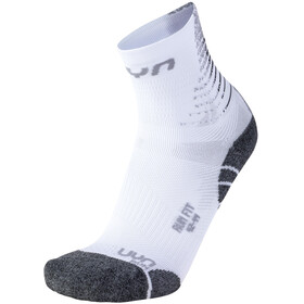 UYN Run Fit Calze Uomo, bianco/grigio